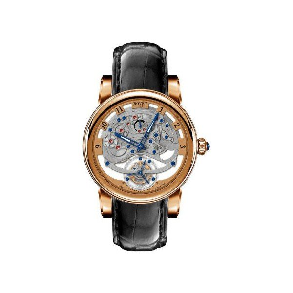 BOVET DIMIER RECITAL 18KT ROSE GOLD 45MM MEN'S WATCH