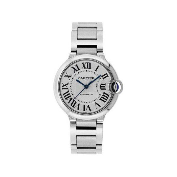 CARTIER BALLON BLEU STAINLESS STEEL 36.6MM LADIES WATCH