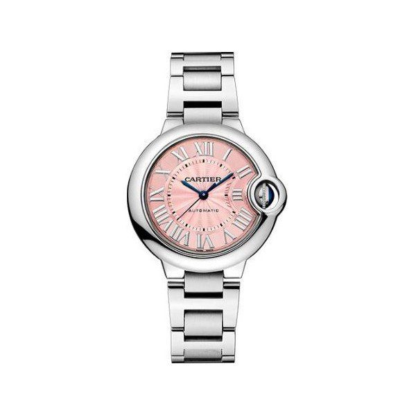 CARTIER BALLON BLEU DE CARTIER STAINLESS STEEL 33MM LADIES WATCH