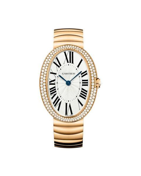 CARTIER BAIGNOIRE 18KT PINK GOLD 44MM LADIES WATCH