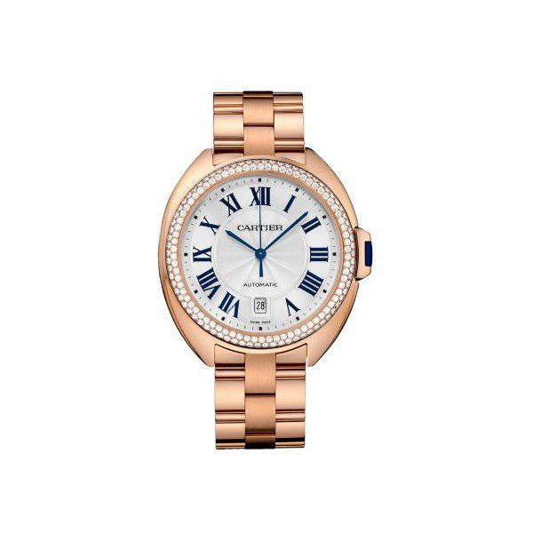 CARTIER CLE DE CARTIER 40MM 18KT ROSE GOLD LADIES WATCH