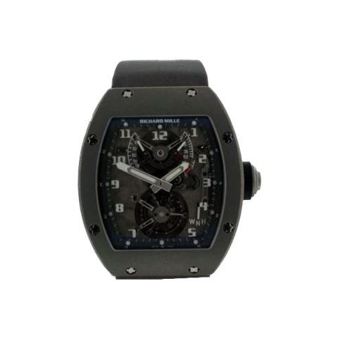 RICHARD MILLE TOURBILLON TITANIUM 38 X 45MM MEN'S WATCH