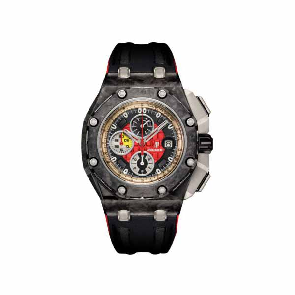 AUDEMARS PIGUET ROYAL OAK OFFSHORE TITANIUM GRAND PRIX LIMITED EDITION MEN'S WATCH REF. 26290IO.OO.A001VE.01