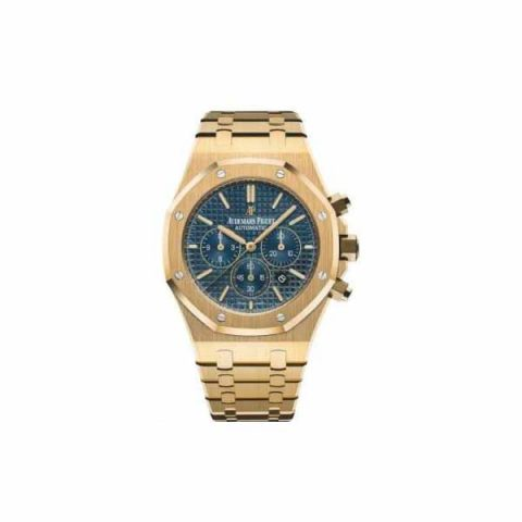 AUDEMARS PIGUET ROYAL OAK CHRONOGRAPH 18KT YELLOW GOLD 41MM MEN'S WATCH