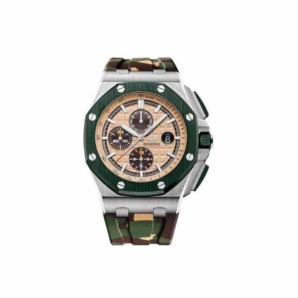 AUDEMARS PIGUET ROYAL OAK OFFSHORE CHRONOGRAPH STAINLESS STEEL MEN'S WATCH REF. 26400SO.OO.A054CA.01