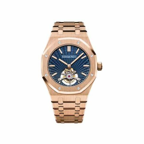 AUDEMARS PIGUET ROYAL OAK TOURBILLON EXTRA-THIN 18KT ROSE GOLD 41MM MEN'S WATCH