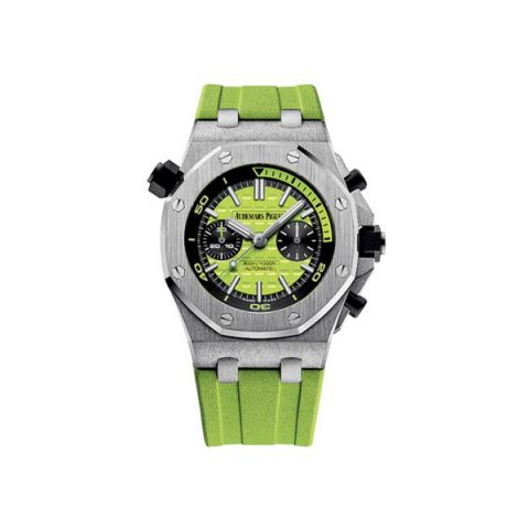 AUDEMARS PIGUET ROYAL OAK OFFSHORE DIVER CHRONOGRAPH STAINLESS STEEL 42MM MEN'S WATCH