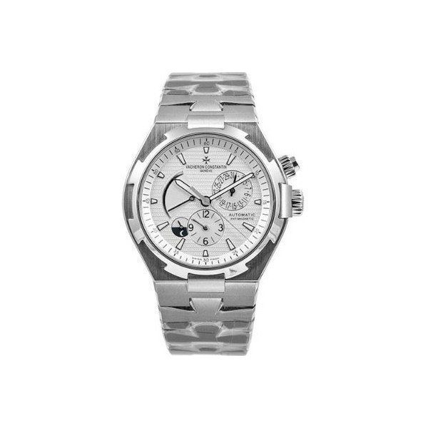 VACHERON CONSTANTIN OVERSEAS DUAL TIME STAINLESS STEEL 42MM MEN'S WATCH