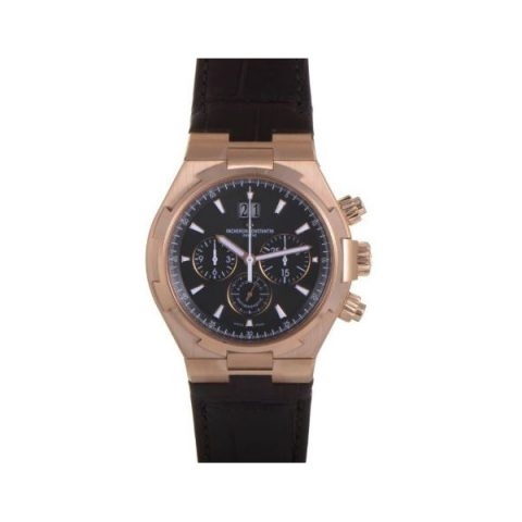 VACHERON CONSTANTIN OVERSEAS CHRONOGRAPH 18KT ROSE GOLD 42MM MEN'S WATCH