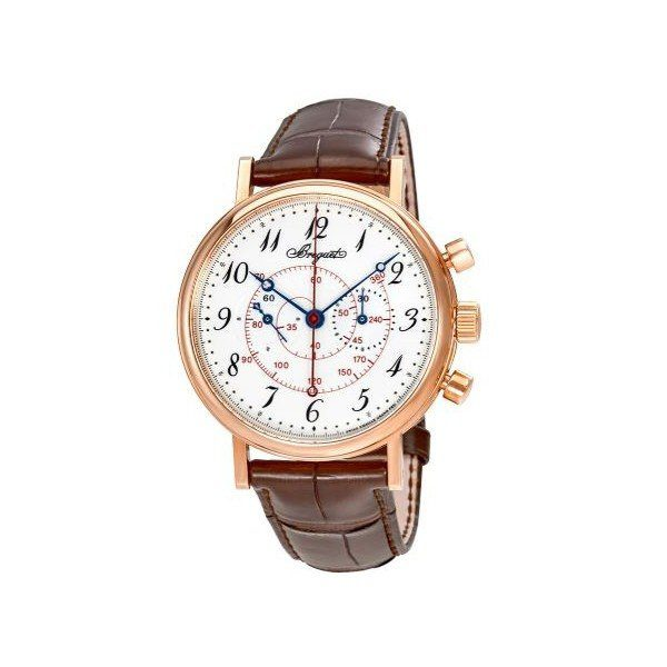 BREGUET CLASSIQUE WHITE ENAMEL DIAL 18KT ROSE GOLD 40MM MEN'S WATCH