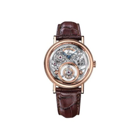 BREGUET TOURBILLON MESSIDOR 18KT ROSE GOLD 40MM MEN'S WATCH