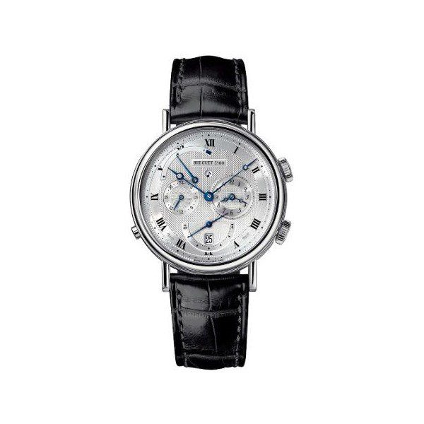 BREGUET CLASSIQUE ALARM LE REVEIL DI TSAR 18KT WHITE GOLD 39MM MEN'S WATCH