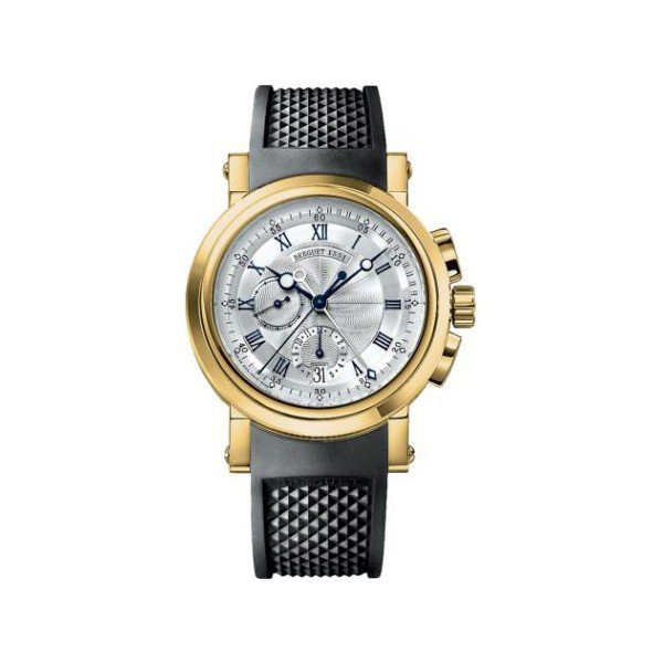 BREGUET MARINE CHRONOGRAPH 18KT YELLOW GOLD 42MM MEN'S WATCH