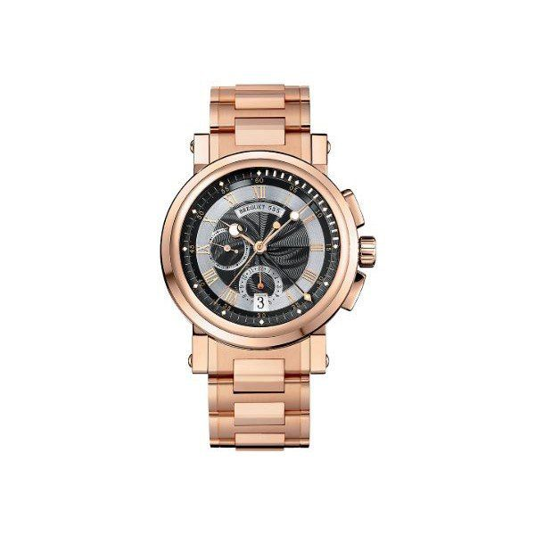 BREGUET MARINE CHRONOGRAPH 18KT ROSE GOLD 42MM MEN'S WATCH
