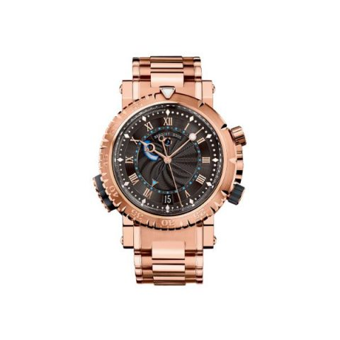 BREGUET MARINE ROYALE 18KT ROSE GOLD 45MM MEN'S WATCH