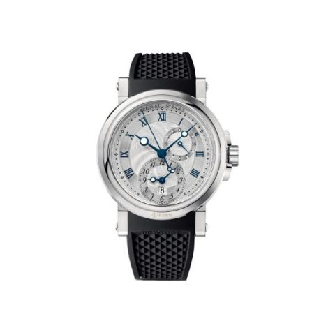 BREGUET MARINE AUTOMATIC DUAL TIME STAINLESS STEEL 42MM MEN'S WATCH