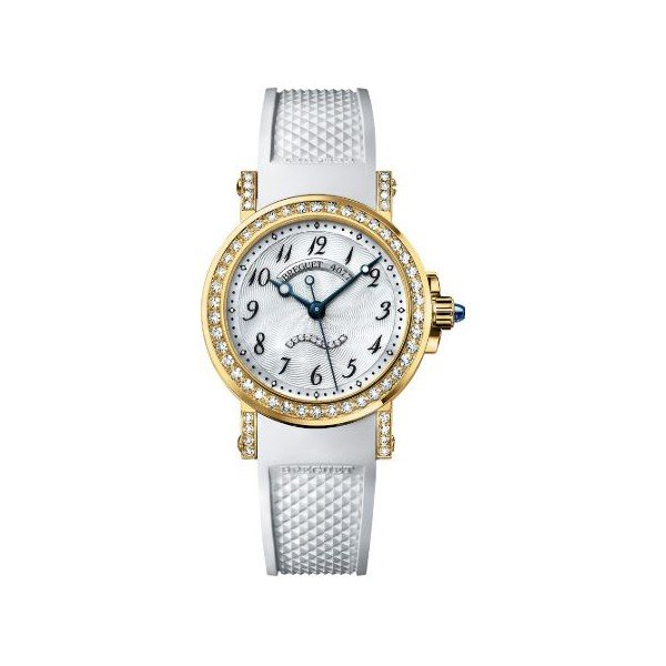 BREGUET MARINE AUTOMATIC 18KT YELLOW GOLD 30MM LADIES WATCH