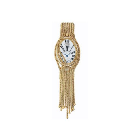 BREGUET REINE DE NAPLES AUTOMATIC MINI 18KT YELLOW GOLD 25MM x 33MM LADIES WATCH