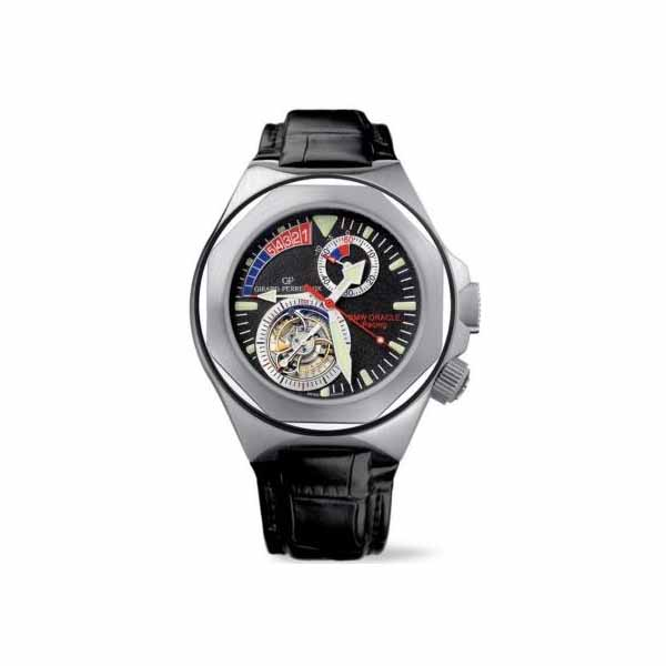 GIRARD PERREGAUX BMW ORACLE RACING LAUREATO REGATTA TOURBILLON 18KT WHITE GOLD 46MM MEN'S WATCH