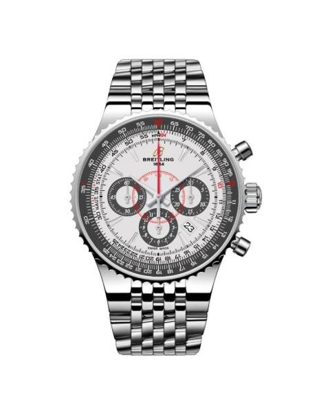 BREITLING MONTBRILLANT LIMITED EDITION STAINLESS STEEL 47MM MEN'S WATCH