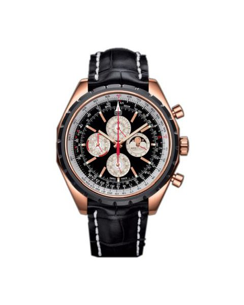 BREITLING CHRONOMATIC LIMITED EDITION 18KT ROSE GOLD 49MM MEN'S WATCH