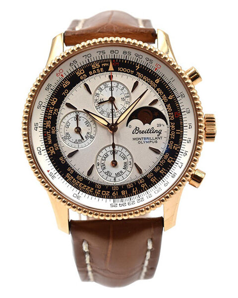 Breitling Pre-owned Montbrillant Olympus Limited Edition 500 Pcs Men's Watch