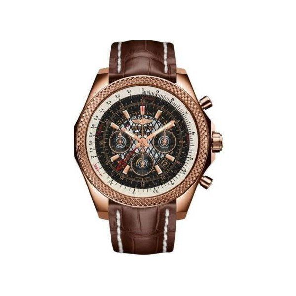 BREITLING BENTLEY CHRONOGRAPH 18KT ROSE GOLD 49MM MEN'S WATCH