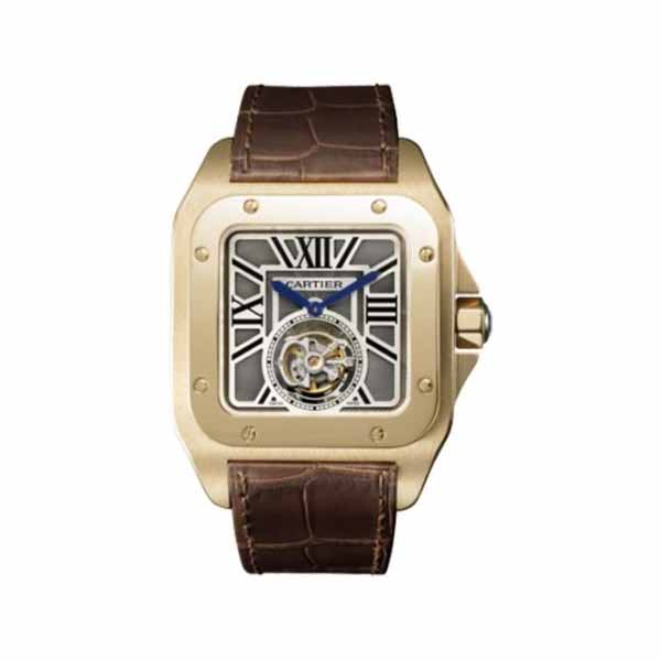CARTIER SANTOS 100 FLYING TOURBILLON LIMITED EDITION MEN'S WATCH