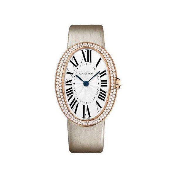 CARTIER BAIGNOIRE 18KT ROSE GOLD 44MM X 34MM LADIES WATCH