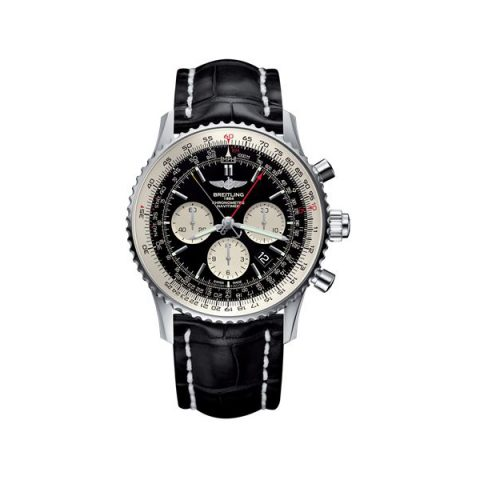 BREITLING NAVITIMER 1 B03 CHRONOGRAPH RATTRAPANTE STAINLESS STEEL 45MM MEN'S WATCH