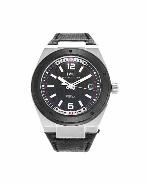 IWC INGENIEUR BLACK DIAL AUTOMATIC STAINLESS STEEL 44MM MEN'S WATCH