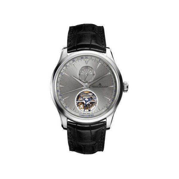 JAEGER LECOULTRE MASTER GRANDE TRADITION TOURBILLON PLATINUM 43MM MEN'S WATCH