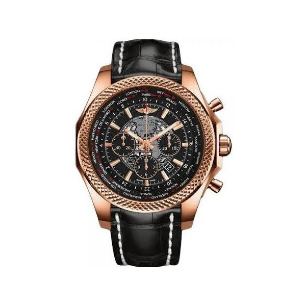BREITLING BENTLEY B05 UNITIME CHRONOGRAPH AUTOMATIC 18KT ROSE GOLD 49MM MEN'S WATCH