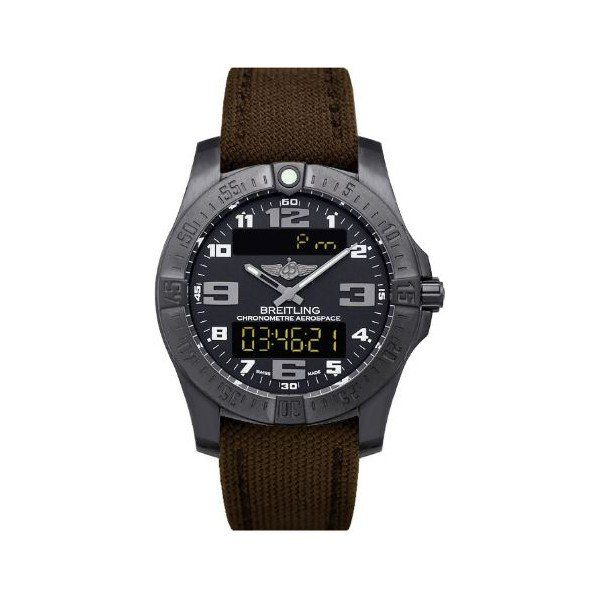 BREITLING AEROSPACE EVO NIGHT MISSION TITANIUM 43MM MEN'S WATCH