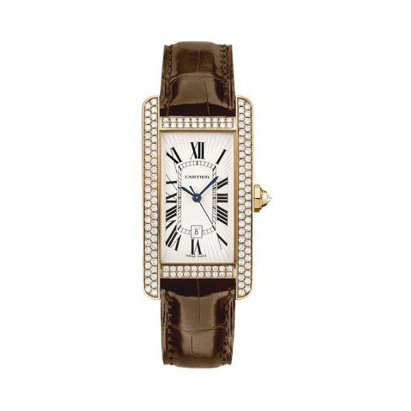 CARTIER TANK AMERICAINE 18KT ROSE GOLD 41.4MM X 22.6MM LADIES WATCH