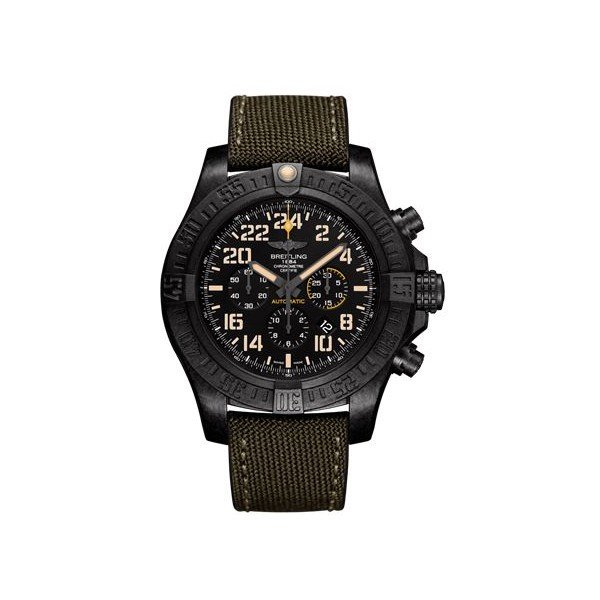 BREITLING AVENGER HURRICANE 	BREITLIGHT-ULTRALIGHT POLYMER 50MM MEN'S WATCH