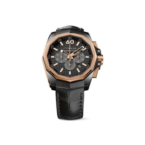 CORUM ADMIRAL'S CUP AC-I CHRONOGRAPH TITANIUM WITH PVD CODING 45MM MEN'S WATCH