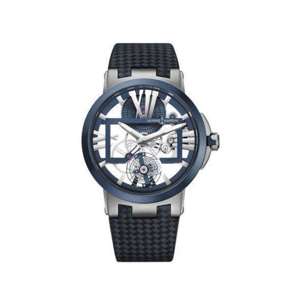 ULYSSE NARDIN EXECUTIVE SKELETON TOURBILLON TITANIUM 45MM MEN'S WATCH