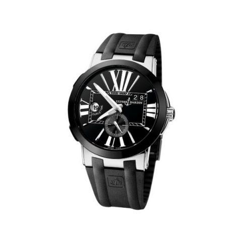 ULYSSE NARDIN EXECUTIVE DUAL TIME STAINLESS STEEL 43MM MEN'S WATCH