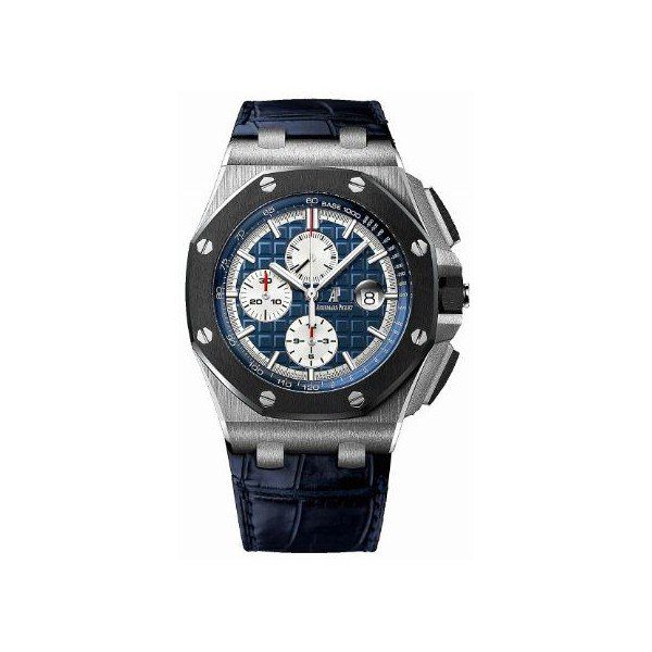 AUDEMARS PIGUET ROYAL OAK OFFSHORE CHRONOGRAPH PLATINUM 4MM MEN'S WATCH