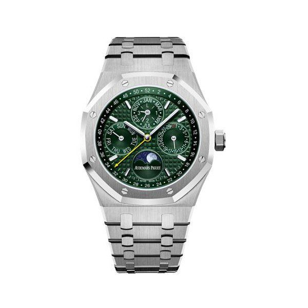 AUDEMARS PIGUET ROYAL PERPETUAL CALENDAR LIMITED EDITION TO 50 PCS STAINLESS STEEL 41MM MEN'S WATCH