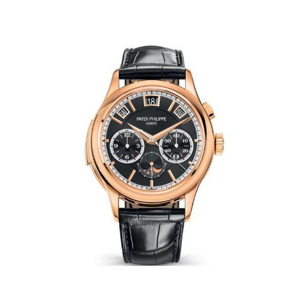 PATEK PHILIPPE GRAND COMPLICATIONS CHRONOGRAPH 18KT ROSE GOLD 42MM MEN'S WATCH Ref. 5208R-001