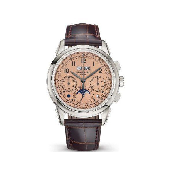 PATEK PHILIPPE GRAND COMPLICATIONS 5270P-001 CHRONOGRAPH PERPETUAL CALENDAR PLATINUM MEN'S WATCH