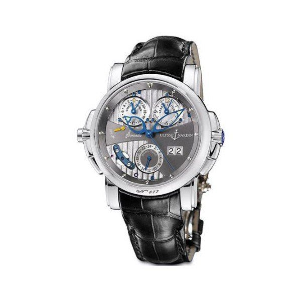 ULYSSE NARDIN SONATA 18KT WHITE GOLD 42MM MEN'S WATCH