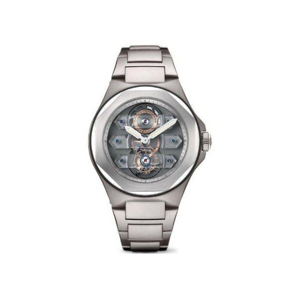 GIRARD PERREGAUX HAUTE HORLOGERIE LAUREATO TRIPLE BRIDGE TOURBILLON 44MM MEN'S WATCH