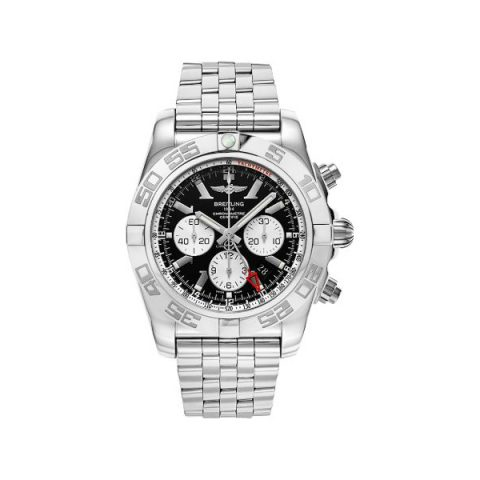 BREITLING CHRONOMAT GMT STAINLESS STEEL 47MM MEN'S WATCH