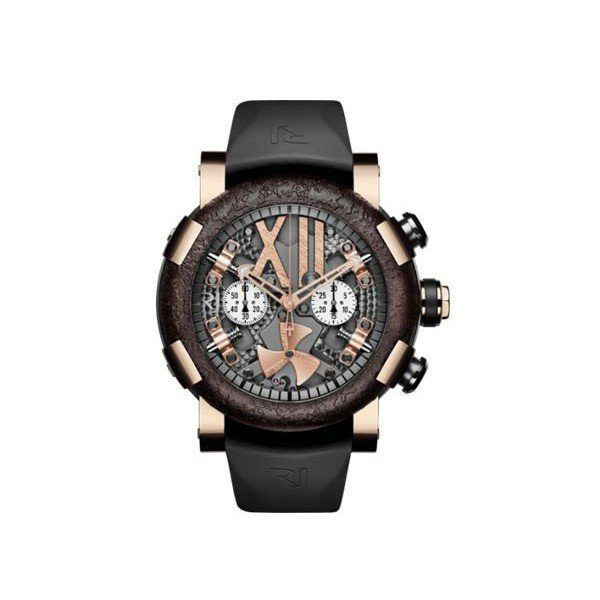 ROMAIN JEROME STEAMPUNK LIMITED EDITION RED CHRONO 50MM MEN'S WATCH