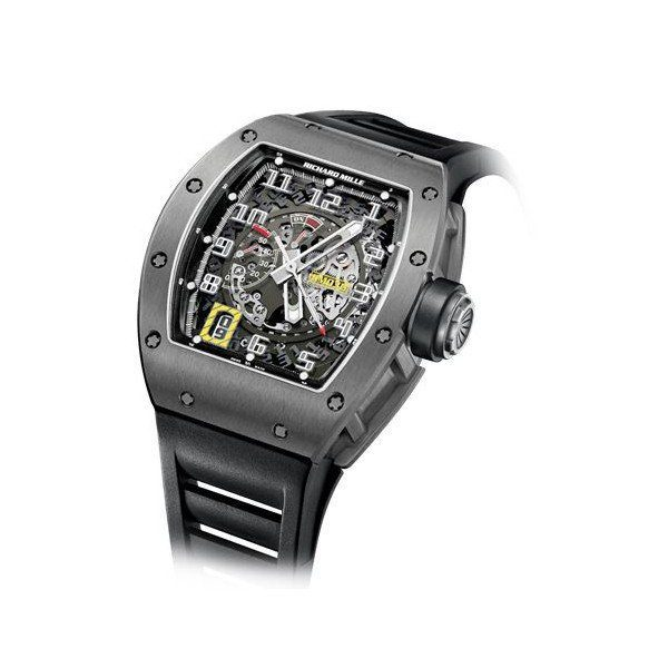 RICHARD MILLE AUTOMATIC WITH DECLUTCHABLE ROTOR TITANIUM MEN'S WATCH