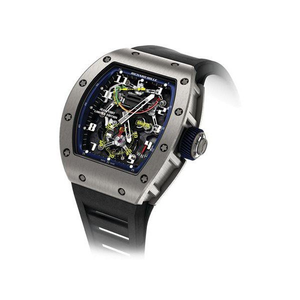 RICHARD MILLE TOURBILLON G-SENSOR JEAN TODT LIMITED EDITION TITANIUM MEN'S WATCH