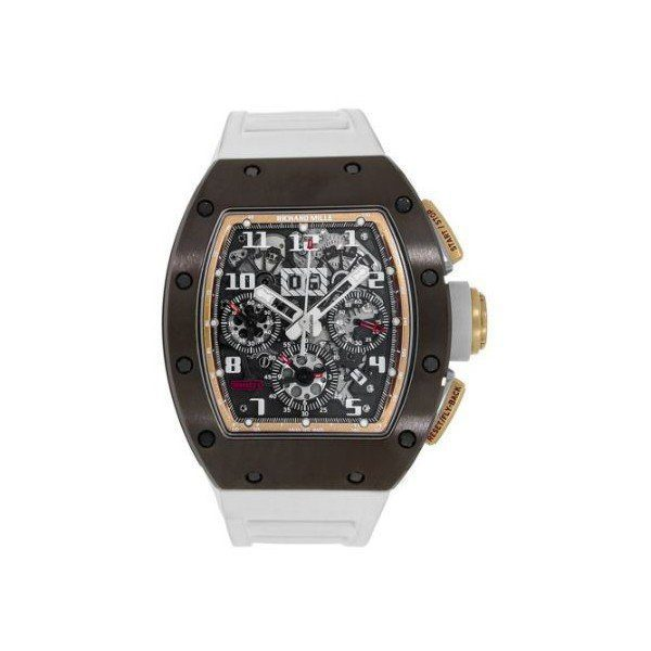 RICHARD MILLE FELIPE MASSA ASIA BOUTIQUE LIMITED EDITION CERAMIC MEN'S WATCH
